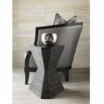 Lexington Carrera Topaz Hexagonal Accent Lamp Table