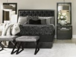 Carrera Maranello Bed, Lexington Contemporary Upholstered Headboard Bed