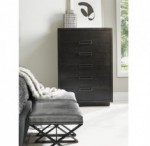 Lexington Dark Wood Chest Of Drawers Brooklyn, New York