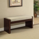 grooved side panels provide a stylish touch and provide stability and support