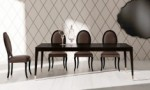 Angelo Cappellini Alexander Art 47003 Leather Dining Chairs for Sale Brooklyn - Accentuations Brand